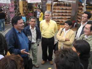 GIES visitando la Calzaferia-Distrito El Porvenir-Trujillo